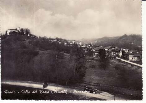 Vista Roasio-Villa del Bosco 1957